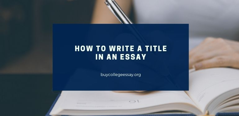 How to write a book title in an essay